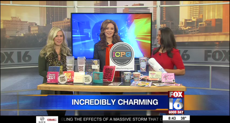 ICPG was featured on Fox 16 news showcasing the January 2016 Collection.
